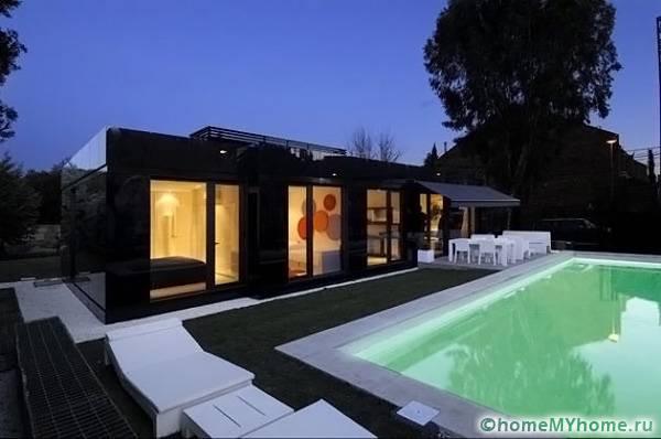 Стильный дом за небольшую цену