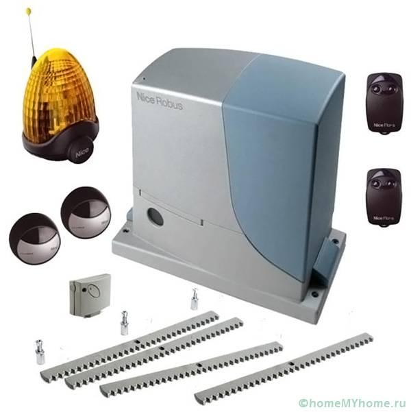 Комплект электропривода и аксессуаров