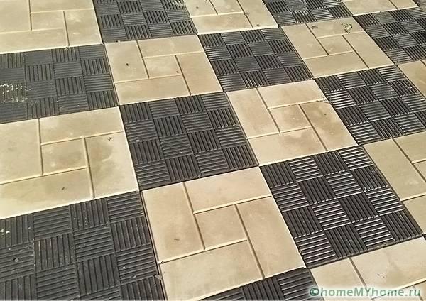 Шахматный порядок почти во всех случаях беспроигрышный вариант