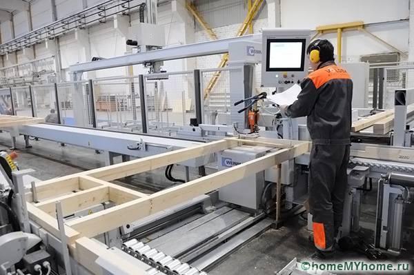 Изготовление на заводе