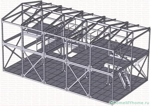 Модульные сооружения могут состоять из, более чем, 10 секций