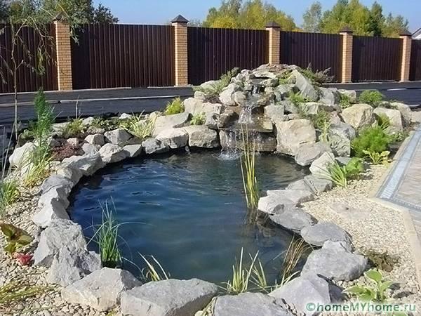 Использование водоема частый прием в ландшафтном дизайне
