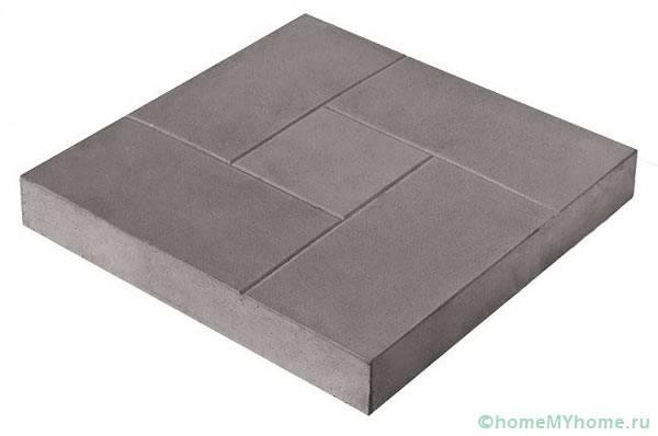 Цементно-песчаный вариант