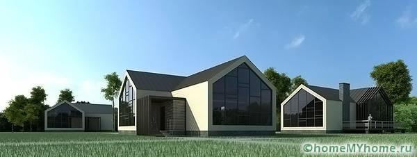 Функциональные и комфортные дома для проживания