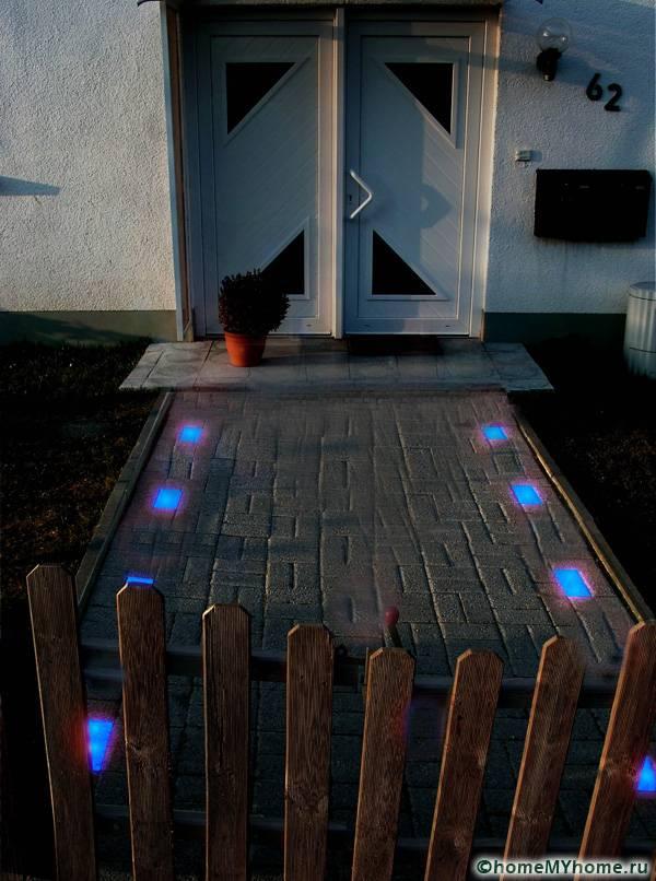 Элементы с подсветкой
