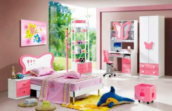 Детские комнаты для девочек: фото