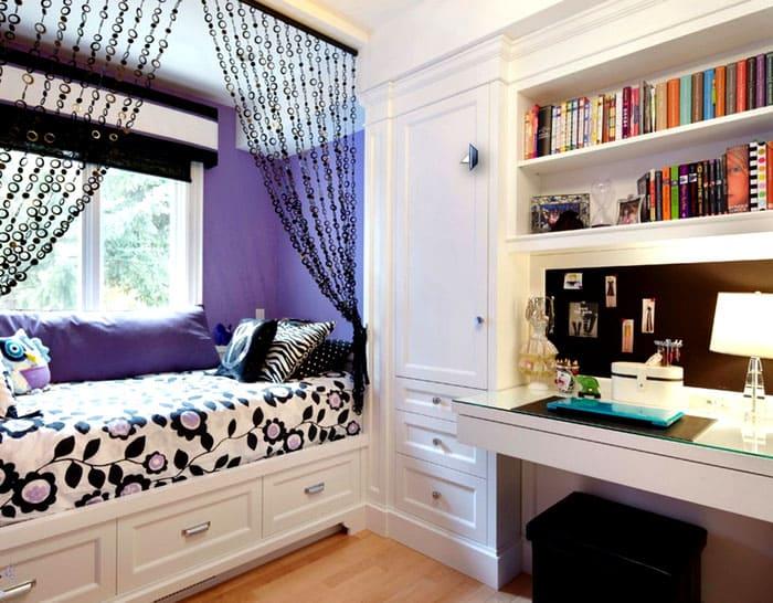 Для маленьких спален тоже есть решения