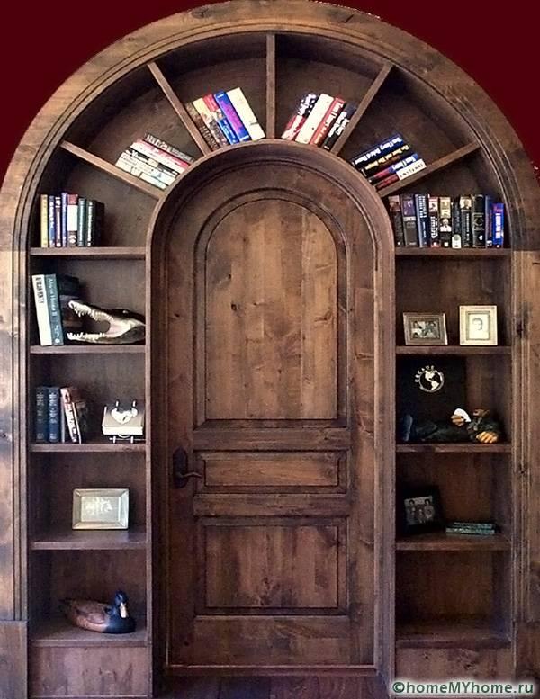 Дверь может стать настоящим украшением интерьера