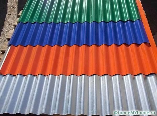 Материал выпускают в разной цветовой гамме