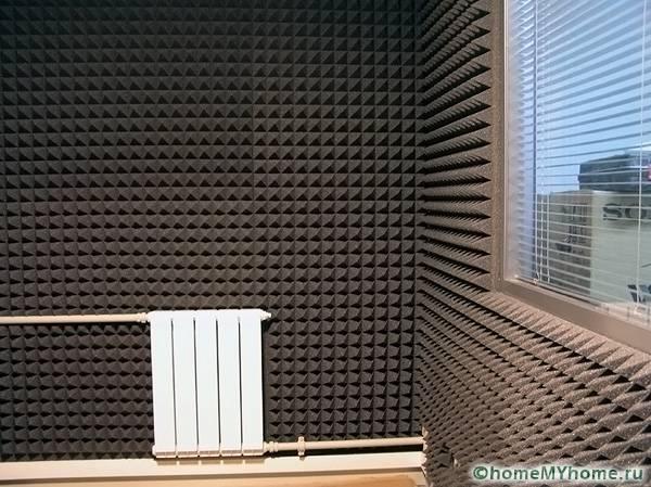 Полиуретан характеризуется высоким качеством звукоизоляции