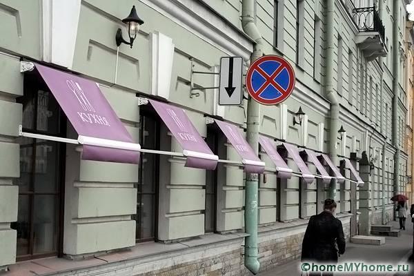 Модели витринного типа часто применяются в общественных заведениях