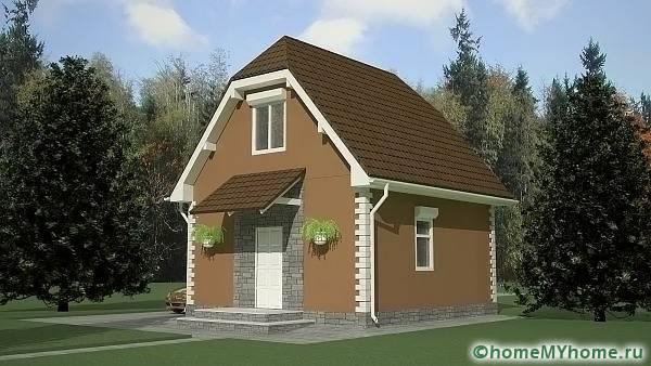 Дом компактной планировки