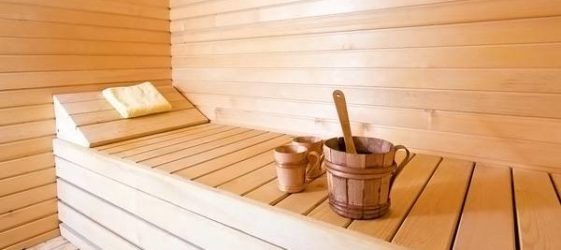 Отделка бани внутри: фото