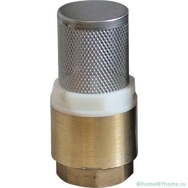 Универсальное приспособление обратного типа с сетчатым фильтром