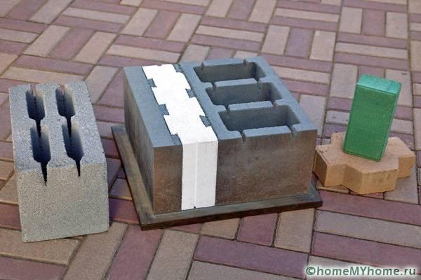 Плитка, созданная посредством вибропрессования