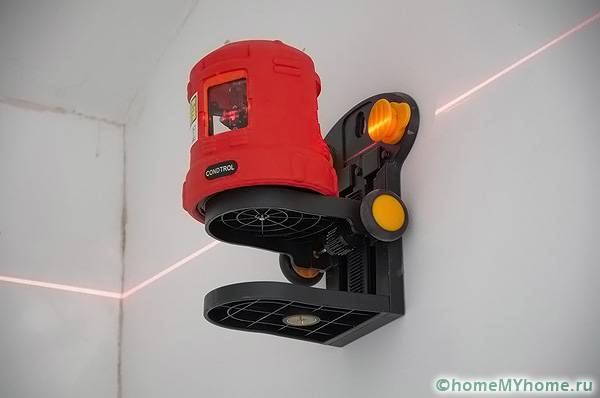 Уровень лазерный самовыравнивающийся 360 градусов