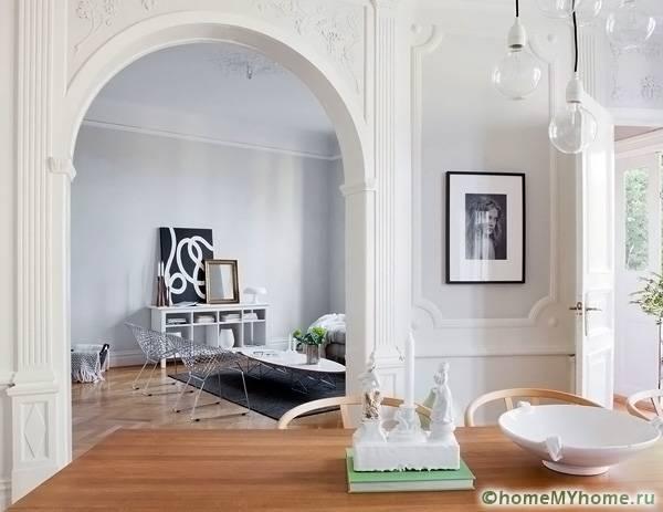 Арки из гипсокартона: фото, дизайн интерьера