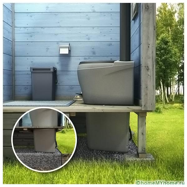 торфяной туалет для дачи: какой лучше выбрать