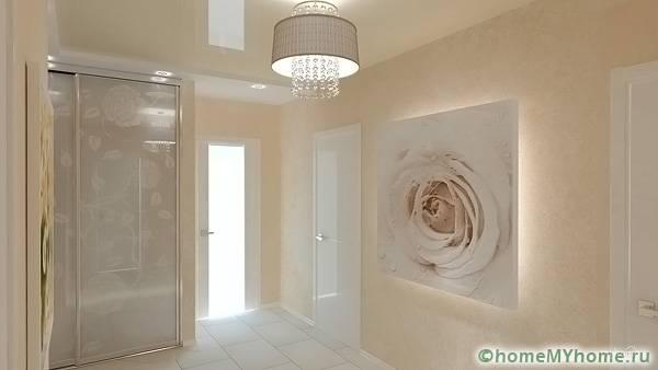 Светлые материалы добавят в помещение воздушности и больше пространства