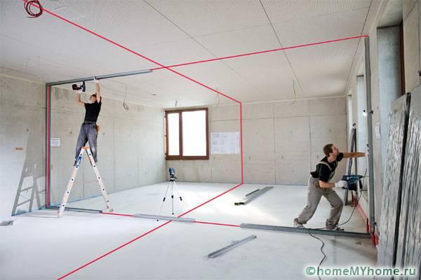 Для строителей понадобятся более серьезные устройства с построителями плоскостей