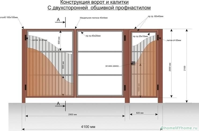 Обшивкой заполняют пространство каркаса конструкции