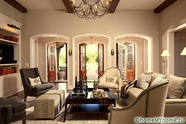 Арки украсят любое помещение, сделав его более роскошным и просторным