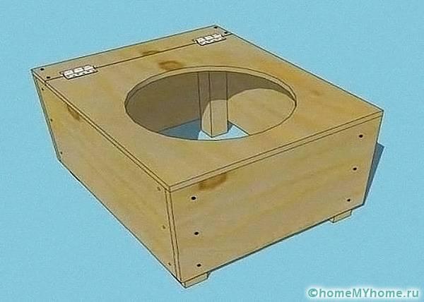 Фанера подбирается по размерам готового ящика
