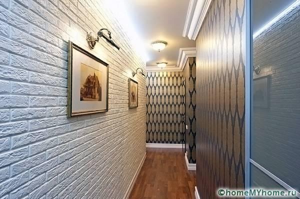 Стильные варианты, имитирующие натуральные материалы, помогут создать оригинальное пространство