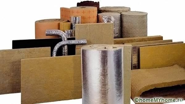 Существует огромное количество материалов с теплоизолирующими свойствами
