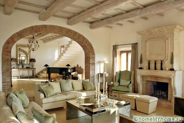 Сдержанность – это признак изысканного вкуса владельца квартиры или дома, который по достоинству оценят гости