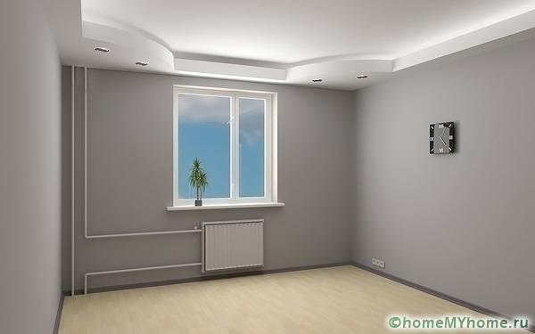 Двухуровневый потолок – отличный выбор для тех, кто хочет воплотить в жизнь интересный проект