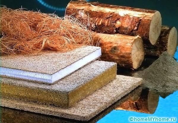 Часто для утепления строений используются более простые материалы