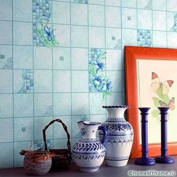 Структурные особенности подобных материалов позволяет маскировать малозаметные дефекты на стене