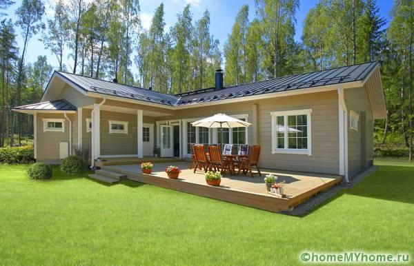 Как выглядит финский домик