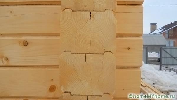 Внешний вид профилированной древесины