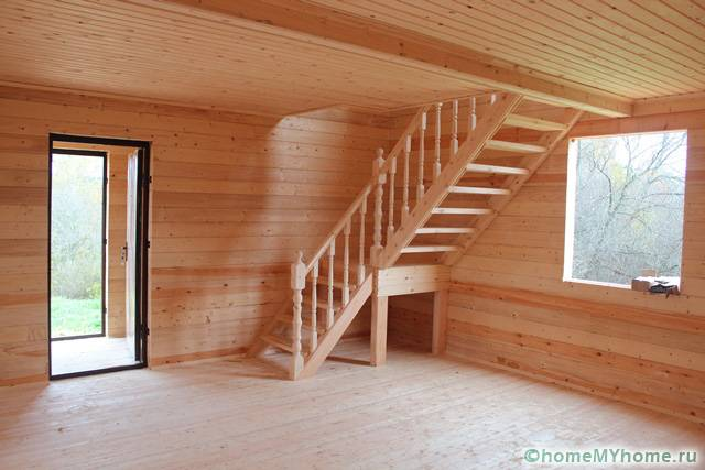 Стильный деревянный интерьер будет радовать вас долгие годы