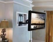 Кронштейн для телевизора на стену поворотный выдвижной
