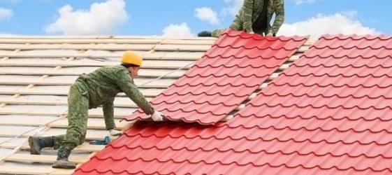 Размеры листа металлочерепицы для крыши: цена