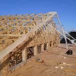 Чертеж стропильной системы двухскатной крыши