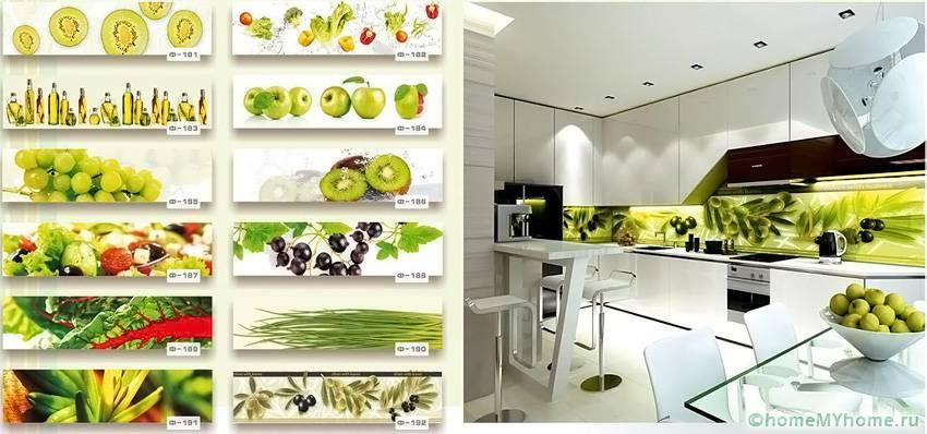 Примеры изображений на растительную тему