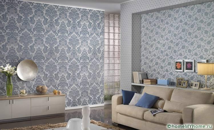 Текстильные стены отлично дополнят классический или современный интерьер