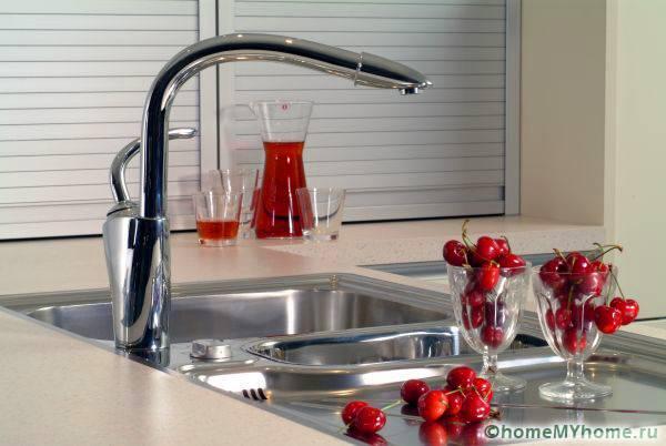 Кухонные варианты характеризуются своеобразным дизайном