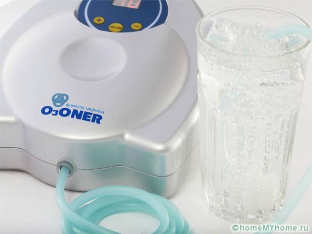 Озонирование может производится компактными устройствами