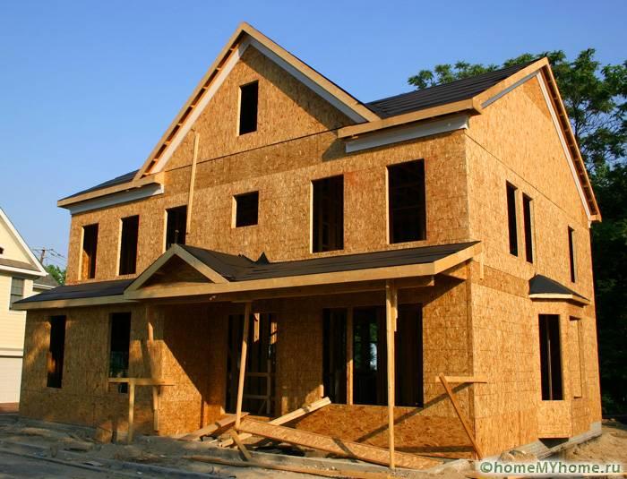 Из полотен ОСБ возводятся отличные жилые строения