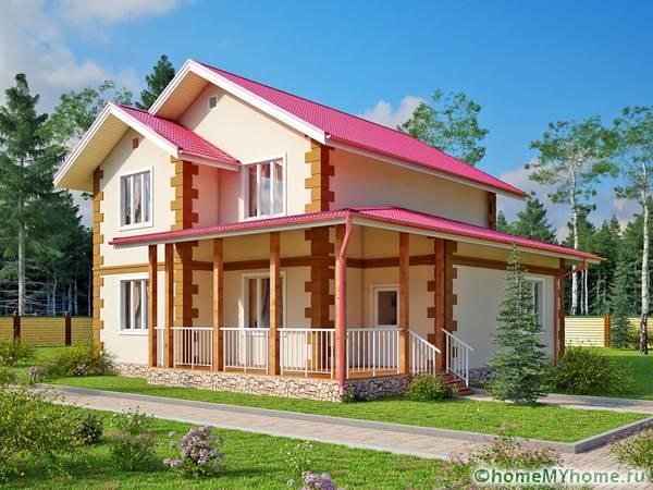 Способ строительства с помощью подобных плит позволяет создать дом мечты за небольшие деньги