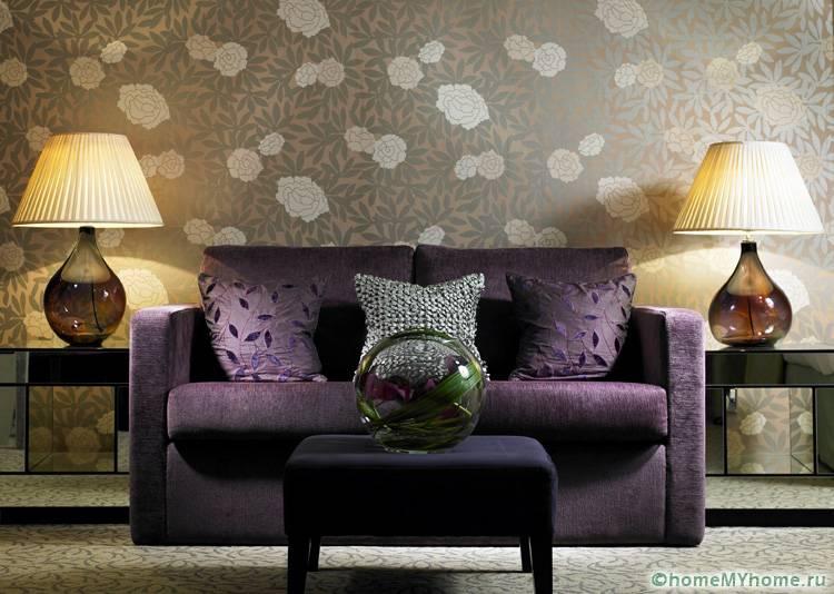 С помощью подходящих вариантов комнату в стиле модерн можно создать яркой и стильной