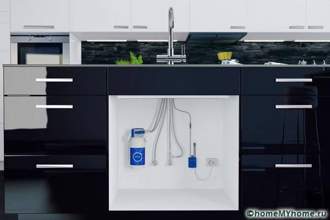 Различные виды смесителей могут оборудоваться определенными фильтрационными системами