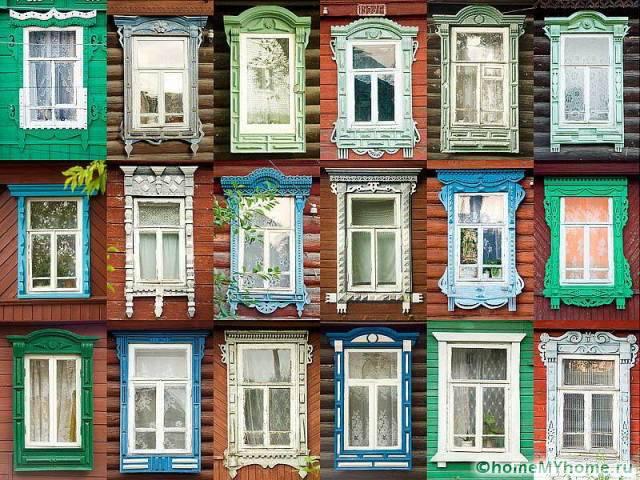 На фасадах старинных зданий можно посмотреть интересные идеи для декорирования своих окон