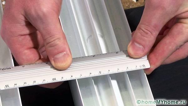 Показан оптимальный размер теплообменных рёбер