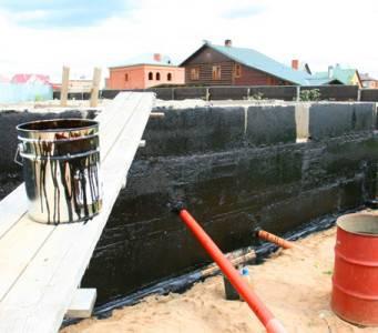 Битумная мастика для гидроизоляции фундамента: цена